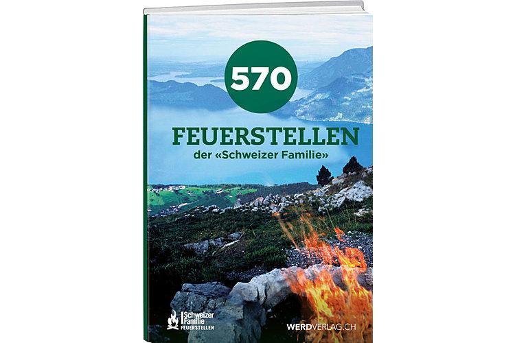 Buch-Tipp: Mehr Tipps finden sich im Buch «570 Feuerstellen der ‹Schweizer Familie›». Regionenweise werden die bekannten Grillplätze der Zeitschrift mit vielen Zusatzinfos vorgestellt. «570 Feuerstellen der ‹Schweizer Familie›», Werd Verlag, 2019, ca. 43 Fr.