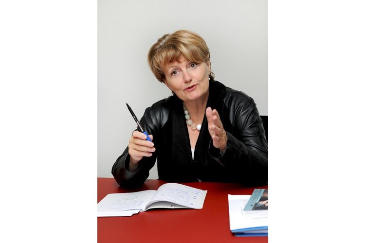 Sylvie Durrer weiss, worauf es bei der Gleichstellung von Mann und Frau ankommt.Foto: zVg