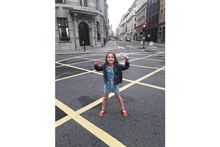 Bethia im «leeren» London