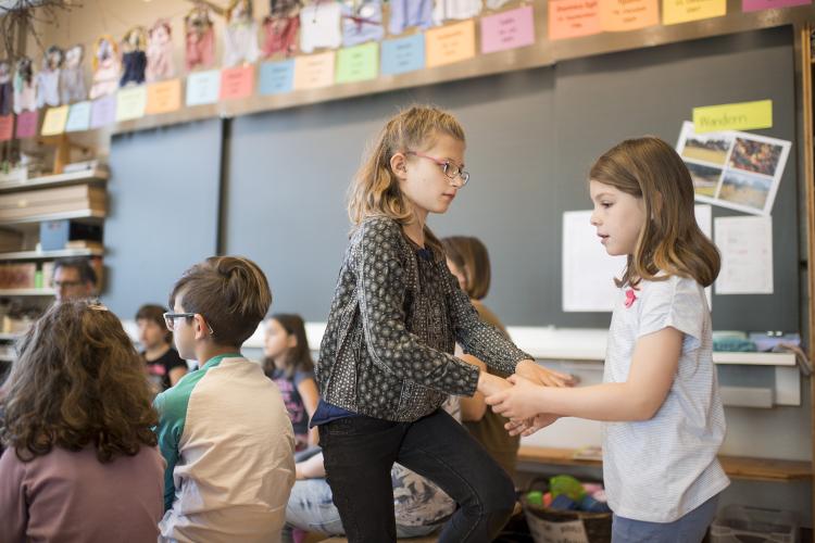 Bei Achim Arn sind die Kinder mitverantwortlich für das Lernen ihrer Klassenkameraden.