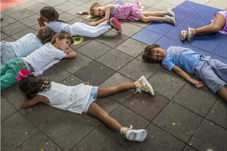 Im Kindergarten lernt Ihr Kind, für Gleichaltrige dazusein.