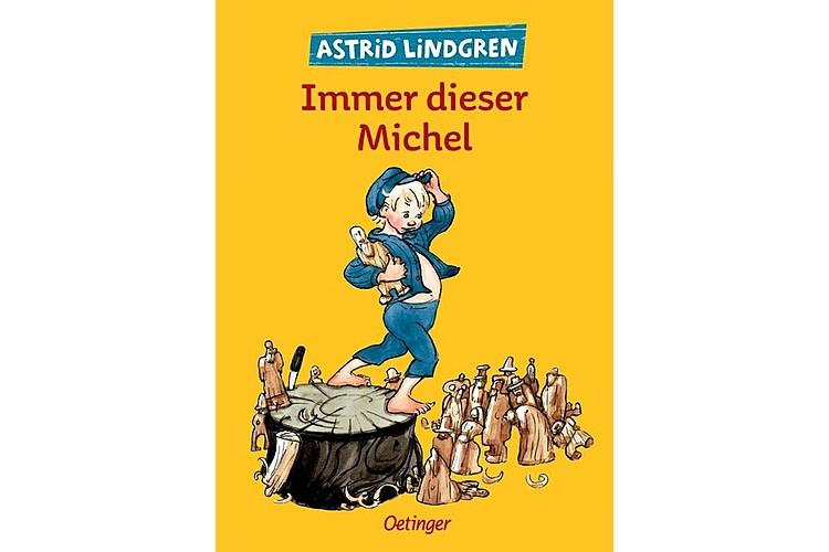 Astrid Lindgren: Immer dieser Michel. Oetinger, 1988. 320 Seiten, 29 Franken. Altersempfehlung: 8-10 Jahre