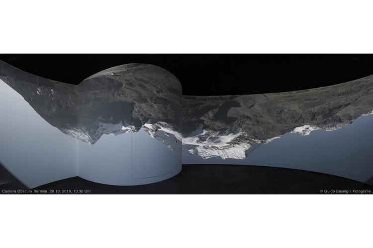 Camera Obscura auf dem Berninapass