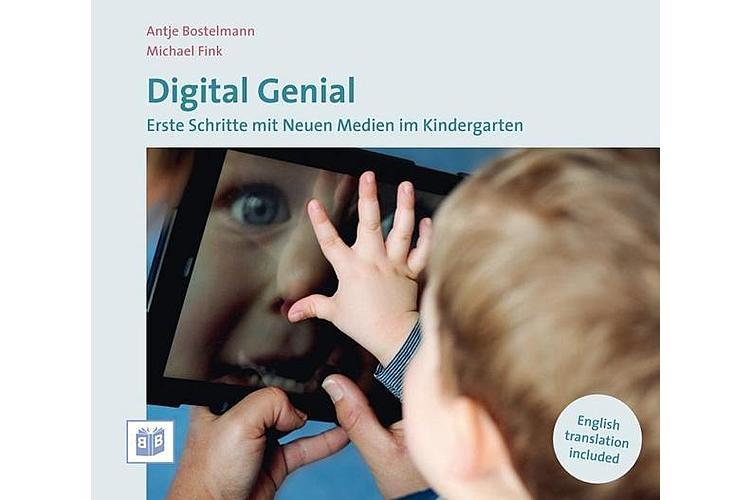 Antje Bostelmann: Digital genial: Erste Schritte mit neuen Medien im Kindergarten. Bananenblau 2014, 102 S., ca. 20 Fr.Spannende Lektüre der deutschen Erzieherin.