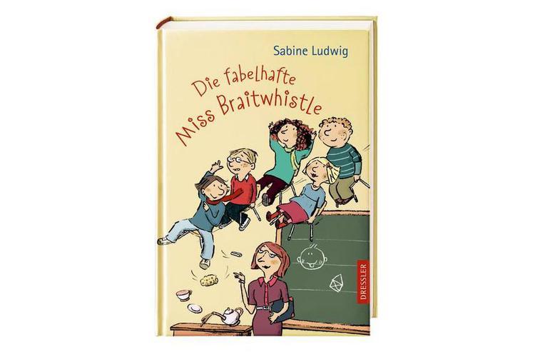 Sabine Ludwig: Die fabelhafte Miss Braithwhistle. Dressler 2011. 207 Seiten, um 18 Franken. (Ab 8 Jahren, insgesamt sind 4 Bände erschienen)