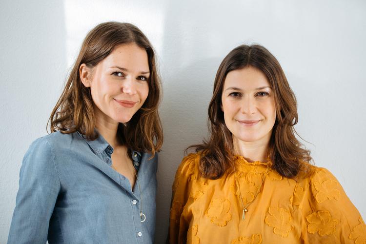 Marie Zeisler, links, und Isabel Robles Salgado
