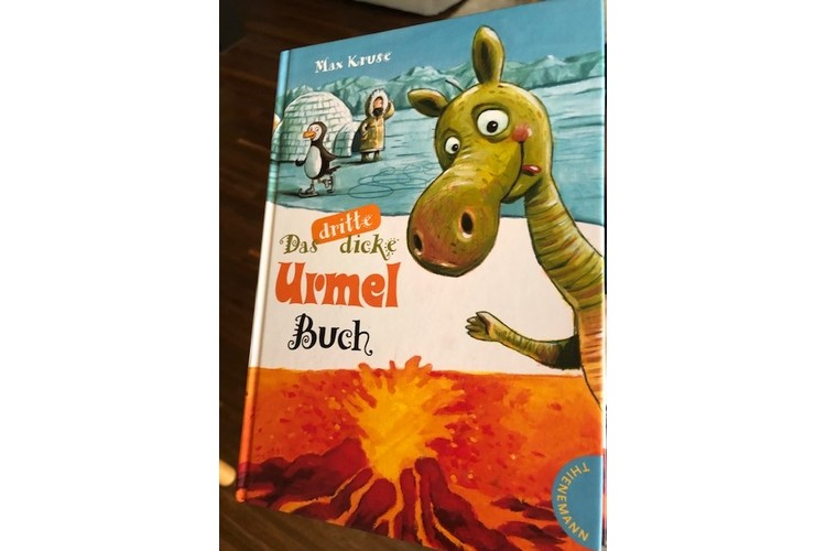 Max Kruse: Das dicke Urmel-Buch. Thienemann 2011, S. 328. ca. 15 Fr.