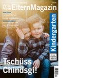 Tschüss Chindsgi!Dies ist das Magazin, das Sie den Kindern des zweiten Kindergartenjahrgangs verteilen können.