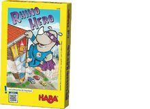 Für Kinder, die gerne Action wollen beim Spielen:Rhino Hero(von Scott Frisco und Steven Strumpf)In Rhino Hero geht es darum, geschickt und gewieft Kartenhäuser zu bauen und dabei dem tierischen Superhelden zu helfen, Gauner und Schurken zu fangen.Ab 5 Jahren, ca. 10 Fr.