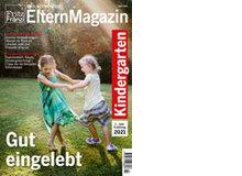 Gut eingelebt!Dies ist das Magazin, das Sie den Kindern des ersten Kindergartenjahrgangs verteilen können.