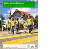 Kinder auf dem SchulwegInformative Broschüre der bfu, Beratungsstelle für Unfall-verhütung, inklusive Checkliste zum Schwierigkeitsgrad des Schulwegs.