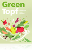Greentopf. Vegetarisch, vegan, vielfältigKochbuch, 368 Seiten, farbig illustriert, gebunden. Schulverlag plus 2019, 38 Fr.Informationen zur Entstehungsgeschichte und zu Kursen: