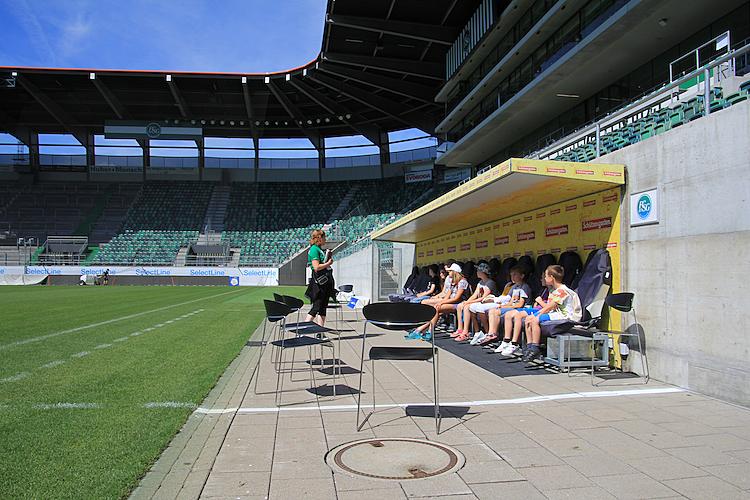 7/7 Ein Besuch im Fussball-Stadion des FC St. Gallen