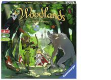 Für Geschichten- und Knobelfans: Woodlands (von Daniel Fehr)Märchen- und Sagen-Welten werden kombiniert mit Puzzles und verschiedenen Folien, so dass bekannte Geschichten wie Robin Hood oder die Sage von King Arthur neu erlebt oder erspielt werden können.Ab 10 Jahren, ca. 40 Fr.