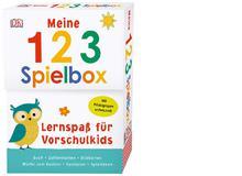 123-SpielboxZahlen-, Rechenzeichen- und Bildkarten mit Fühlelementen sowie ein Spielplanposter für ein Würfelspiel und einem Würfel zum Selberbasteln. Altersempfehlung: 5 bis 7 Jahre.Dorling Kindersley 2018, ca. 22 Fr.